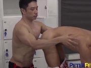 PETERFEVER Asian Hunk GunRyu Fucks Babyfaced Fighter In Gym