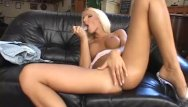 Veronika simon interracial - Hot blond babe presenting her pussy