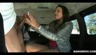 Teen driking and driving Driving through town blowing huge rod