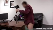 Adult dinner and dancing Creampie for dinner on casting couch