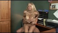 Tranny in the office Julia ann fucked hard in the office