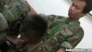 Gay hot uniform Two hot soldiers sucking dick