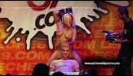 Pcr strip tubes Jenny one strip show in erotic festival