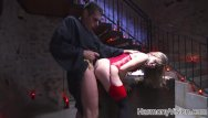 Nasty bondage pussy lcking - Nasty slut gets her pussy licked and pounded