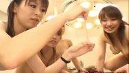 Asian nurse gives Asian nurses give massive blowjob