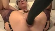 Mature chubby fisting videos Amateur wife fisted and fucked with a giant d