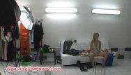 Super teens to suck sample video - Super slim blonde in hot backstage video