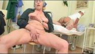 Old love cum Grandpapa is fucked by hot nurse