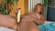 Grannies giving handjob Redheaded granny gives hairy pussy a treat