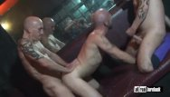 Gay saunas dc Threesome breeder in sauna