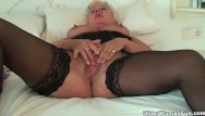 Chubby ebony clit pussycat Chubby grandma in stockings rubs her clit