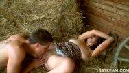 At home sex streaming - Smoking hot sex at the haystack