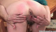 Granny hairy creampie - Sleazy granny with saggy tits and hairy cunt