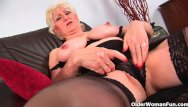Old woman like to fuck - Granny with big tits finger fucks old pussy