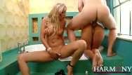 Donna tubbs porn Harmony vision two babes one cock