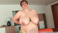 Chubby older boobs Chubby grannies and milfs masturbating