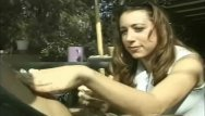 Slow messy handjob video Messy handjob outdoors