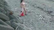 Popular youtube porn cones Giant road cone fuck at a public beach