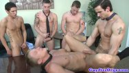 Gay cumshots bukkake - Beefy athletes giving bukkake cumshot