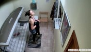 Young czechs amateur - Hidden cam young girl is touching her pussy