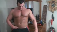 Muscled pussy Frank defeo muscle guy