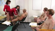 Nu-west leda femdom - Femdom jess west and pal jerk classmates