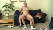 60 plus sex Lonely 60 years old granny swallows big cock