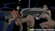 Batman and robin big dick Justice league hentai - two chicks for batman