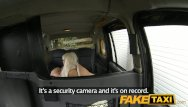 Titty spunk Faketaxi blonde gets covered in spunk facial