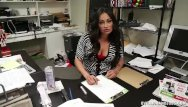 Attractive milfs over 40 - Mature latina hanjob at the office