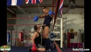 Naked gay guy having sex Gay boxing guys having sex in the gym