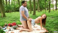 Teeny boppers getting fucked hard - Old forester fucks hard teenie in the woods