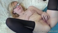 Hot coed hand jobs Pure finger rubbing masturbating coed with