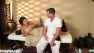 Eric bottom Massage turns to cheating for wild girl daisy