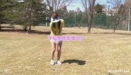 Cute asian girl app - Cute asian girls play a game of strip golf