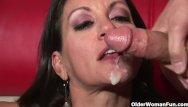 Older latina busty - Busty milf persia monir gets facial