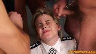 Cfnm dick - Femdom police babe nadia elainas facial