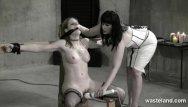 Flaggin sex life - Lesbian dominatrix flogs her sex slave