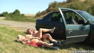 Girls of 80 porn 80 years old bitch gets screwed in the car