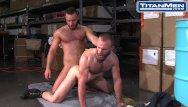 Gay garage tgp Hairy muscular jocks fuck in the garage