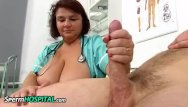 Eva la rue breasts Big breasts cougar eva jerking a big penis