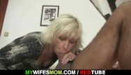 Force my mother to fuck me - Blonde mother in law seduces me into sex
