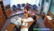 Horny doctors fuck their patients Fakehospital doctor fucks patient on desk