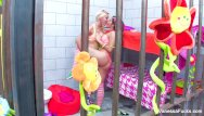 Lesbian jail tube Hippie babes vanessa natasha fuck in jail