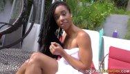 Naked beauty network Beautiful ebony kira noir goes anal