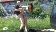 Lil nudist - Teen girl picked up and fucked outdoor and pu