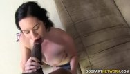 Lay on her back sex - Lacey lay takes bbc in her pussy