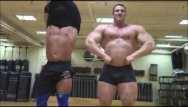Muscle nude hunk - Big max and frank the tank before the worship