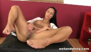 Wet squirting cunts Hot pissy lady drills her cunt with passion