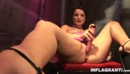 Dominatris lingerie - Inflagranti german dominatrix masturbating